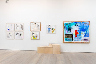 Galerie DYS at Draw Art Fair London 2019, installation view