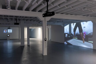 Open Call: Web-Based Art, installation view