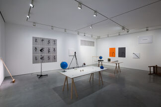 JOHN WOOD AND PAUL HARRISON: AN ALMOST IDENTICAL COPY, installation view