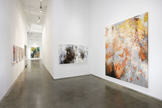 José Parlá: Surface Body / Action Space, installation view
