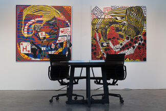 Jack Bell Gallery at 1:54 Contemporary African Art Fair New York 2017, installation view