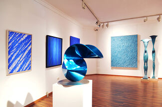 The color of infinity - blue dimensions in contemporary art, installation view
