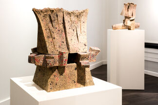 Between Sky and Earth: Bruce Edelstein & Christian Erroi, installation view