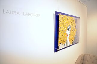 Pearls, Paintings and Paws (Laura LaForge), installation view