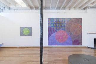 John Aslanidis: Sonic Networks no. 3 & no. 7, installation view