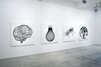 Peter Kogler, installation view