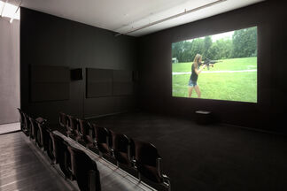 Leo Gabin: A Crackup at the Race Riots, installation view