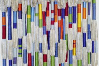 SHEILA HICKS Predestined Colour Waves, installation view