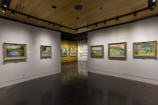 THE PAINTINGS OF SIR WINSTON CHURCHILL, installation view