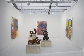 Office Baroque at Frieze London 2015, installation view