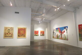 Mapping Strife: Perception and Reality, installation view