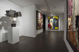 Manolo Valdés in Geneva, installation view