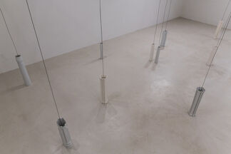 RESONATING PILLARS, installation view