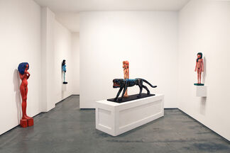 The Young Lady from Riga, installation view