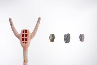 Monika Grabuschnigg : Fantasy electrifies my hand, installation view
