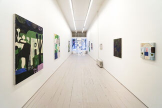 Justine Rivas: Phaedra Bathes in Fabuloso, installation view