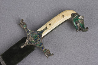 Steel and Gold – Historic Swords from the MIA collection, installation view