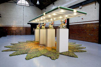 Bruce High Quality Foundation: Beyond Pastoral, installation view