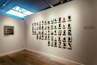 Mario Zoots - Black Sun, installation view