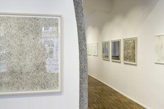 line and poetry: Carmen Hillers, Dieter Kränzlein, Christine Leins, Erin Wiersma, installation view