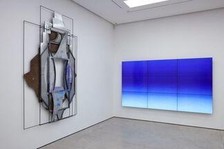 Liu Wei: Silver, installation view