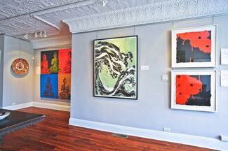 East on West, installation view