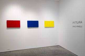 PINO PINELLI | Pittura, installation view