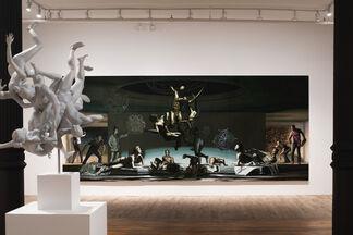 NICOLA VERLATO: The Merging: beyond the end, installation view