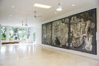 Sala sa Init, Sala sa Lamig - Don Salubayba solo show, installation view