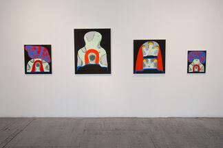 Josh Jefferson: Head Into The Trees, installation view