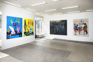 """New """"Bad"""" Painting - Group exhibition, installation view"""