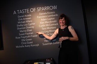 A Taste of Sparrow, installation view