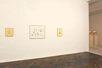 Ian Hamilton Finlay, installation view