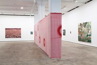 Meshes of the Afternoon: A group exhibition of paintings, installation view