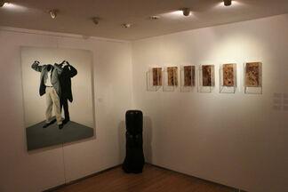 Group Show: Wang Keping, Bui Cong Khanh, Xiao Lu, Chan Dany, Atul Dodiya, Ren Jing, Xiao Zheluo, installation view