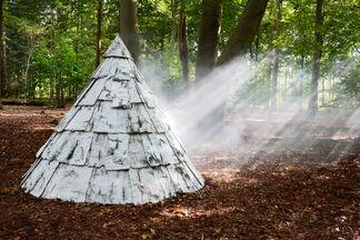 Garden sculptures, installation view