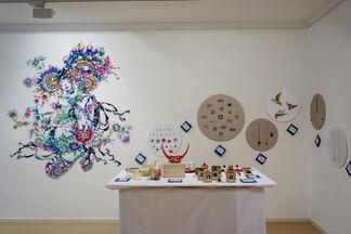 Zauberbox (玉手箱), installation view