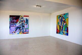 Untitled : Ngimbi Bakambana, Ousmane Niang and Moussa Traore, installation view
