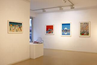 Kontraste - group exhibition, installation view