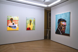 Black Voices / Black Microcosm, installation view