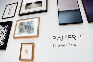 Papier +, installation view