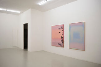DARK CALM... SOME WORDS IN 3 ACTS - Michael Bevilacqua, installation view