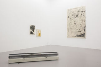 Die Neue Offenbacher Schule 'Habt ihr Bock auf Ibiza?', installation view