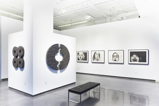 Gwen Manfrin & Tim Yankosky: Smoke and Mirrors/These are Puzzling Times, installation view