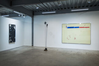 Grinding, installation view