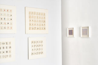Howard Smith: 1 + 1 + 1 ... paintings and works on paper, installation view