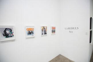 LA REBELS, installation view