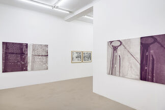 """FX Combes """"Unsaturated Diptychs"""", installation view"""
