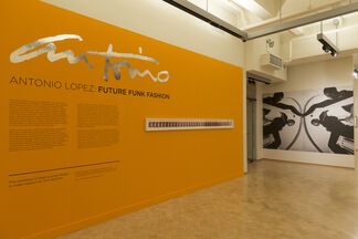 ANTONIO LOPEZ: Future Funk Fashion, installation view