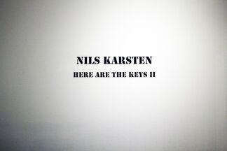 NILS KARSTEN: Here Are The Keys II, installation view